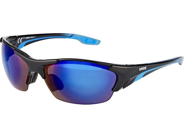 UVEX blaze lll Brille black blue